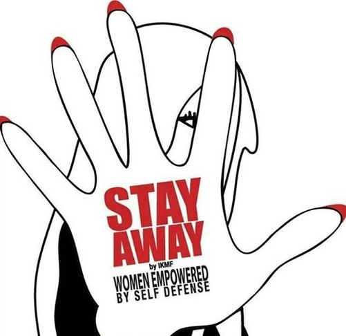 Logo des WOMEN ONLY Selbstverteidigungsprogrammes für Frauen der IKMF